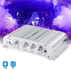 12V 400 Watt 2.1Channel Car Audio Stereo Amplifier Speaker Power Class A/B Amp .