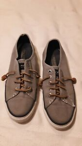Womens SPERRY TOPSIDER SHOES--Size 6M--Slip On w/Leather Laces