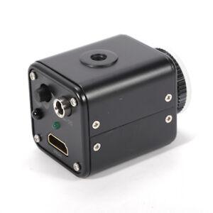 Industrie CMOS Video Mikroskop Kamera C-Mount Lens mit Ständer 16MP 1080P HDMI