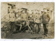 Foto, MG-Trupp mit Maschinengewehr, Nahaufnahme, Frankreich (W)1030