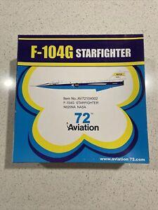 Aviation72 F-104G Starfighter NASA N820NA Diecast 1:72 AV72104002