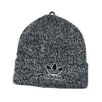 Adidas Original Fold Beanie Men Team Issue Hat Grey Warm Climawarm Knit Winter