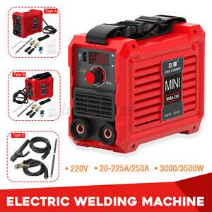 220V 20-225A/250A Digital Electric Welding Machine IGBT DC Inverter Stic