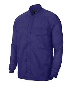 Nike Sportswear Tech Pack Woven Jacket CJ5157-590 Purple Men's SMALL NWT $160