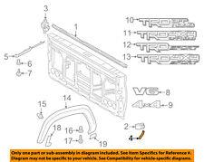 TOYOTA OEM 16-18 Tacoma Pick Up Box Bed-Front Molding Left 7564104030