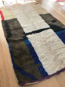 Beautiful Boucherouite Rug -  Rectangle - handwoven. 260 x 156 Condition New