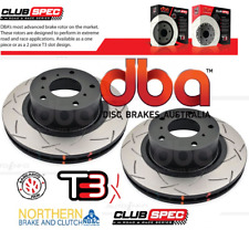 DBA 4000 SERIES T3 SLOTTED FRONT DISCS suit HOLDEN COMMODORE VT-VZ 296mm