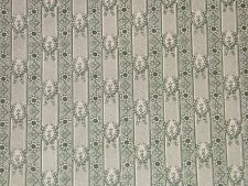 """Lee Jofa """"Laurier Toile"""" romantic toile vintage fabric by the yard color green"""