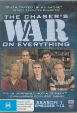 D.V.D MOVIE  DB192   THE CHASER'S WAR ON EVERYTHING SEASON 1, EPISODES 1-13 DVD