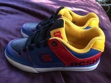 DC Pure Boys Toddler-Youth Size 13    Red Yellow Blue 301069A