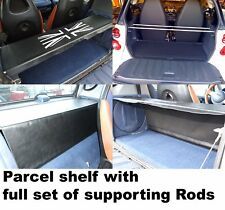 Smart ForTwo Parcel Shelf Cover and Supporting Rods for all 450 Models - UK b/w