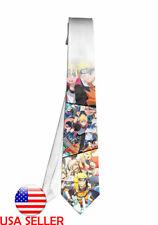Naruto Boruto Ninja Cartoon Necktie Neck Tie Anime Manga Men Child Cosplay Gift