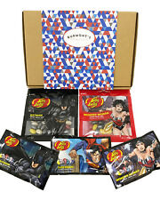 Jelly Belly DC Comics Super Hero Hamper - Batman, Superman & Wonder Woman Beans