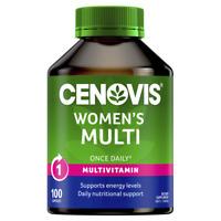 Cenovis Women's Multi 100 Capsules Once Daily Womens Health Multivitamin