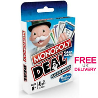 Monopoly Deal Card Game Family Kids Travel Fun Board Games Make Tricky Deals