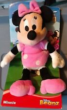 Disney Minnie Mouse Club House Plush Beanz Mickey NEW TOY clubhouse beanie baby