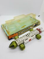 Vintage Dinky toys 359 Space 1999 Eagle Transporter Gerry Anderson Boxed - worn