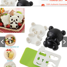 Panda Shape DIY for Sushi Mould, Bento Rice Ball Mold, or Maker Style