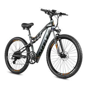 27.5'' Electric Mountain Bike 500w / Moped 48V 13ah 8 speed gear - UK stock