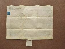 More details for 1809 bishop of gloucester signature and seal on vellum deed document indenture