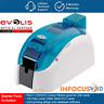 Evolis Dualsys 3 Doppelseitig Plastik Ausweis / Badge Drucker mit Startpackung &