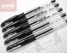 5 pcs Uni-Ball Signo DX UM-151 0.38 roller ball pen gel ink  BLACK