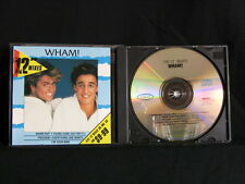 "Wham! The 12""Mixes. Compact Disc. 1986. Australia Pressing. Epic Records."