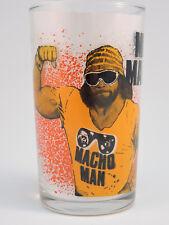 5 '88 WWF Titan Sports Glass Macho Man, Brutus, Hulk, Elizabeth & Jake Snake