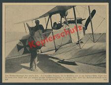 Feldpost Reichspost Palästinafront Syrien Luftwaffe Postflieger Heer Pilot 1917
