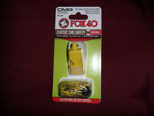 FISCHIETTO ARBITRO FISCHIO FOX 40 CMG ORIGINAL FOX40 GIALLO REFREE WHISTLE AIA