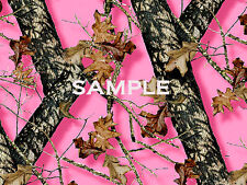 PINK Breakup Mossy OAK CAMO Edible ICING Image CAKE Topper Decoration Next