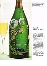 PUBLICITE  1976   PERRIER- JOUET  CHAMPAGNE belle epoque