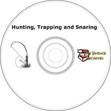 Hunting, Trapping and Snaring Vintage Book Collection on CD - 6 Books