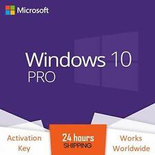 Windows 10 Pro Professional Activation Code 32/64bit Licence Key Genuine Product