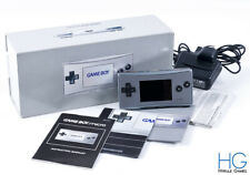 Nintendo Game Boy Micro Silver Handheld Console Boxed! PAL