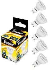 5x Energizer GU10 LED Light Bulb 250lm Spot 3.6W=35W Warm White 3000k 36°