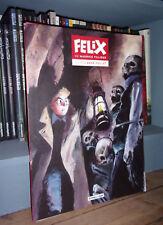 Félix de Maurice Tillieux vu par René Follet - 7 planches grand format - BD