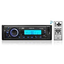 Pyle PLR 27 mpbu COCHE RADIO ESTÉREO AM/FM SD/USB/MP3/AUX Bluetooth Inalámbrico Y Control Remoto
