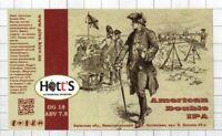 UKRAINE Micro,hott'S,Khotyanivka AMERICAN soldier Sailboat beer label C2241 014