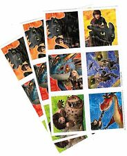 3 Sheets How to Train Your Dragon 2 Scrapbook Stickers Hiccup