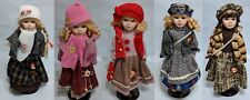 """The Shannon Collection - 12"""" Porcelain Doll with stand - 5 designs  to choose"""