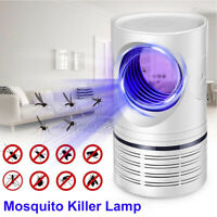 Electric Insect Mosquito Fly Killer Bug Zapper UV Home Indoor Pest Catcher Trap@
