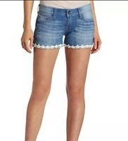 Lucky Brand Womens Size 2 26 Riley Daisy Jean Short Denim