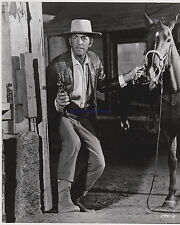 ROUGH NIGHT IN JERICHO DEAN MARTIN WITH PISTOL  GREAT ORIG 1967 8X10