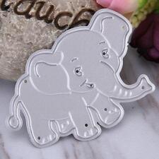 Little Elephant Stencil Cutting Dies for DIY Scrapbooking Photo Album Card Craft