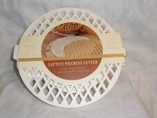 William Sonoma Lattice Piecrust Pie Crust Cutter  Linzertortes New