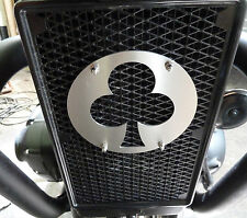 RADIATORE Radiatore emblema TRIUMPH STREET TWIN Bonneville Thruxton t120 + R t120 in alluminio