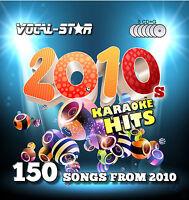 VOCAL-STAR 10'S 2010S CDG KARAOKE DISC SET CD+G 8 DISCS 150 SONGS
