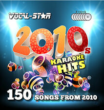 VOCAL-STAR 10'S 2010S CDG KARAOKE DISC SET CD+G 8 DISCS 150 SONGS