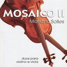 Mariana Salles - Mosaico II: Duos Para Viola E Violino [New CD]